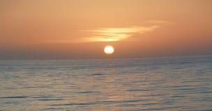 Alba di mattina sopra il Pacifico fotografia stock libera da diritti