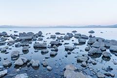 Alba di Tahoe Fotografie Stock Libere da Diritti