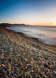 Alba in Dorset Immagine Stock Libera da Diritti