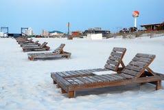 Alba en la Costa del Golfo Imágenes de archivo libres de regalías