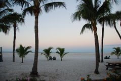 Alba in Fort Myers Fotografie Stock Libere da Diritti