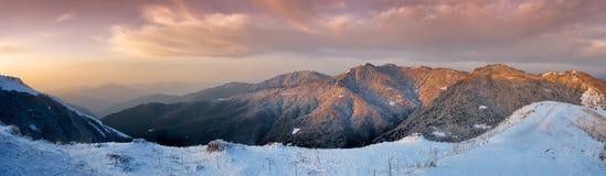 Alba in Himalaya immagini stock libere da diritti