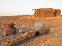 Alba il deserto Israele Fotografie Stock Libere da Diritti