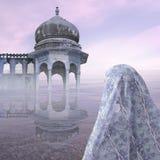 Alba in India Fotografie Stock Libere da Diritti