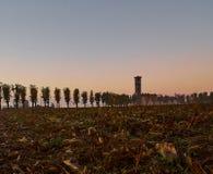 Alba in Italia Fotografia Stock Libera da Diritti