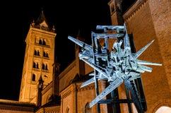 Alba Italy, Monument zum parteigängerischen Krieg Lizenzfreie Stockfotografie