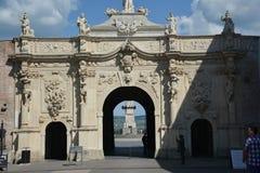 Alba Iulia brama obraz stock