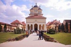 Alba Iulia Cathedral fotos de archivo