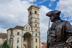 Alba Iulia Cathedral Stock Photo