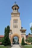 Alba Iulia Cathedral, Romania, Europa Fotografia Stock Libera da Diritti