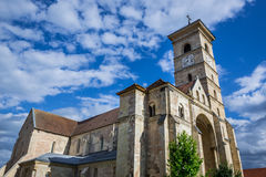 Alba Iulia Cathedral. St. Michael's Cathedral in Citadel of Alba Iulia city in Romania royalty free stock photography