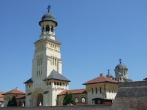 Alba-Iulia cathedral Royalty Free Stock Photo