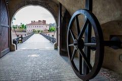 Alba Iulia Citadel Stock Photo