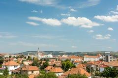 Alba Iulia City View Stock Photo