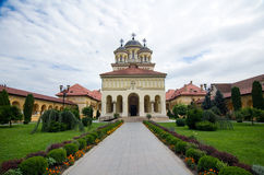 Alba Iulia - Coronation Cathedral Stock Photos