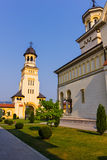 Alba Iulia coronation cathedral Royalty Free Stock Images