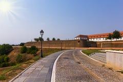 Alba Iulia cytadela Zdjęcie Stock