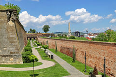 Alba Iulia Fortress defense wall system Royalty Free Stock Image