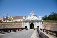 Alba Iulia Fortress Gate Stock Photo