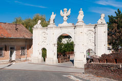 Alba Iulia Fortress Gate Stock Photography