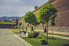 Alba Iulia fortress, Romania Royalty Free Stock Photography
