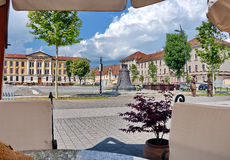 Alba Iulia, Romania. Fortress square in Alba Iulia, Romania Royalty Free Stock Photography