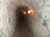 Alba Iulia gammal befästning Arkivfoto