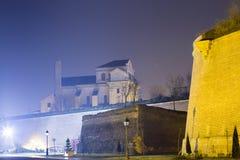 Alba Iulia gränsmärken - Apor slott Fotografering för Bildbyråer