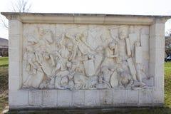 Alba Iulia landmarks -fight scene Royalty Free Stock Photo