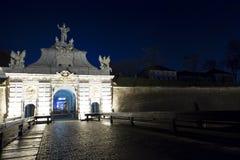 Alba Iulia landmarks - Fortress gate Stock Photos