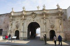 Alba Iulia landmarks - Fortress gate Royalty Free Stock Images