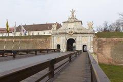 Alba Iulia landmarks Royalty Free Stock Image