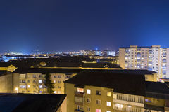 Alba Iulia nocturnal view Stock Images