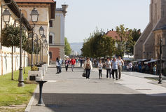 Alba Iulia - RAW format Royalty Free Stock Image