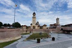 Alba Iulia, Rumänien Royaltyfri Bild