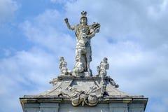 Alba Iulia-Statue stockfoto