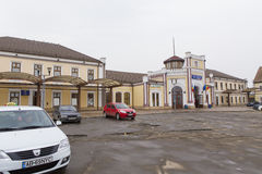 Alba Iulia train station Stock Photos