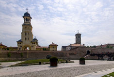 Alba Iulia, Unirii Square Royalty Free Stock Photo