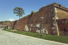 Alba Karolina fortyfikaci ściany Fotografia Royalty Free