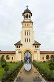 alba katedralny koronacyjny iulia Zdjęcie Stock