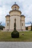 alba kyrklig iulia romania Arkivbild