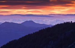 Alba in Liguria, Italia Fotografie Stock Libere da Diritti