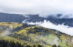Alba in montagne Fotografia Stock