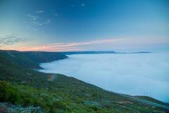 Alba morbida delle nuvole Fotografie Stock Libere da Diritti