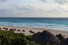 Alba nei Caraibi Fotografia Stock