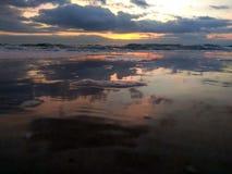 Alba nel Mar Nero Fotografie Stock