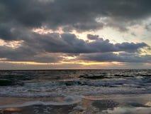 Alba nel Mar Nero Immagini Stock