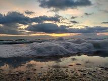 Alba nel Mar Nero Immagini Stock Libere da Diritti