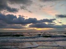 Alba nel Mar Nero Fotografie Stock Libere da Diritti
