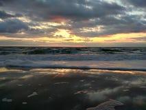 Alba nel Mar Nero Fotografia Stock